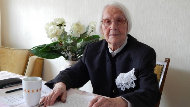 Respekt, Respekt: Mit 102 Jahren noch ein Crowdfunding auf die Beine gestellt!