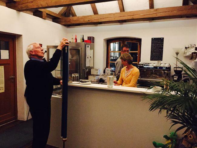 Zum dritten Mal in diesem Jahr: Dagmar Wagner im Literaturcafé Waschhäusl Pöcking!